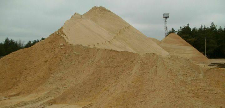 Песок в Андреевке