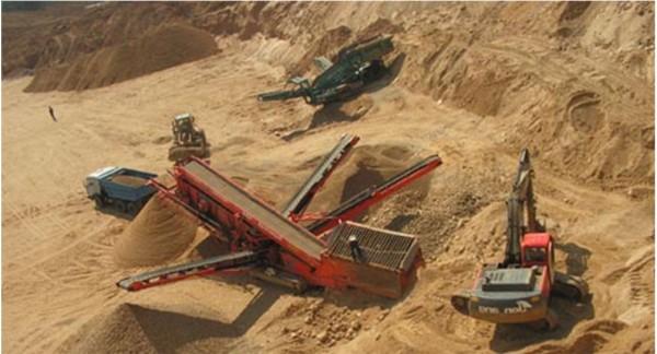 Песок в Нахабино