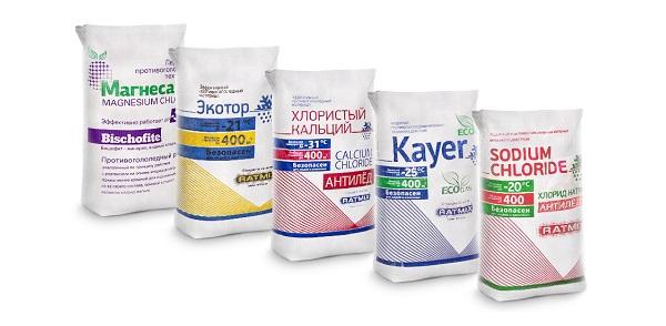 антигололедные реагенты в москве
