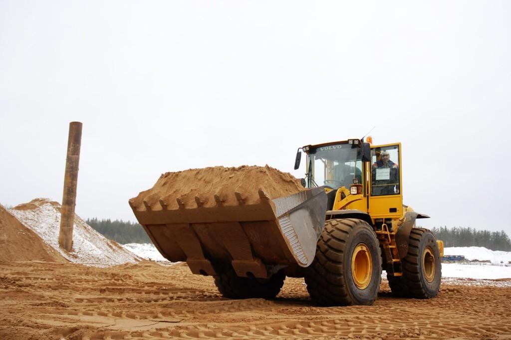 Песок в Свердловском