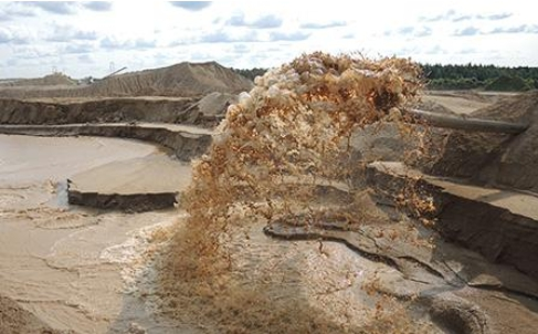 Виды карьерного песка