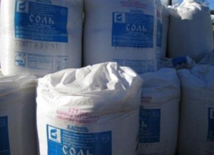 Техническая соль для посыпки дорог