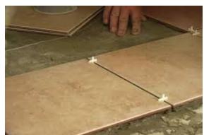Укладка цельной плитки