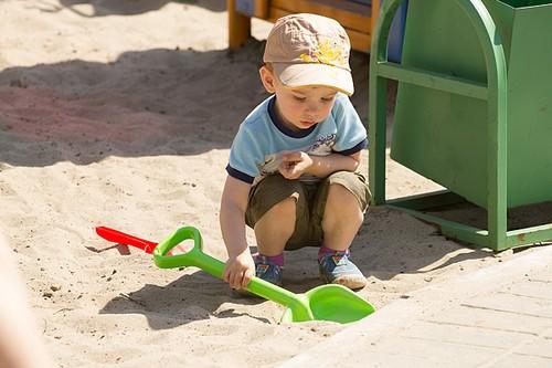 песок для детских площадок
