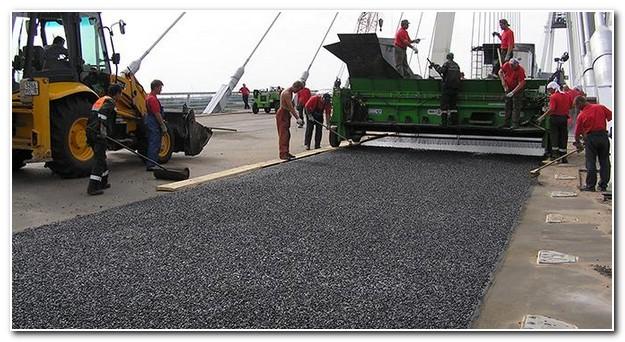 Расклинцовка щебнем в дорожном строительстве