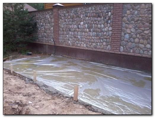 Для чего нужен уход за бетоном