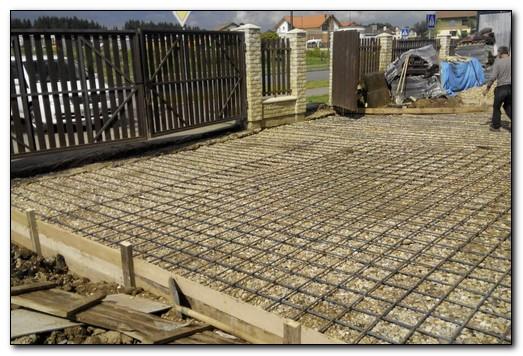 армирование бетонной массы проволокой