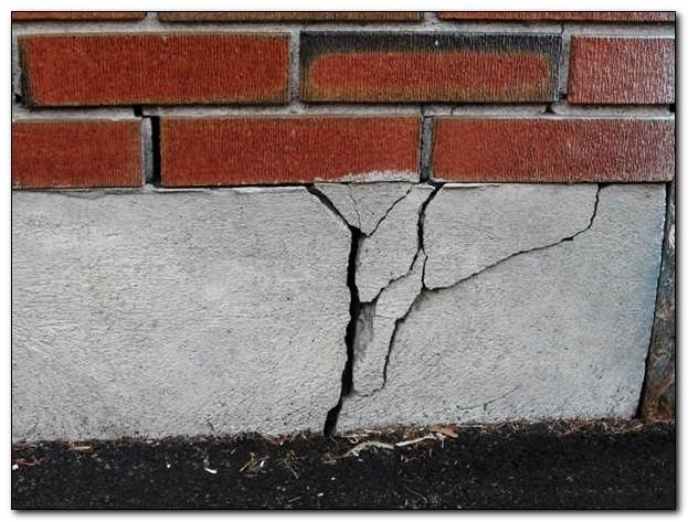 трещины в основании фундамента
