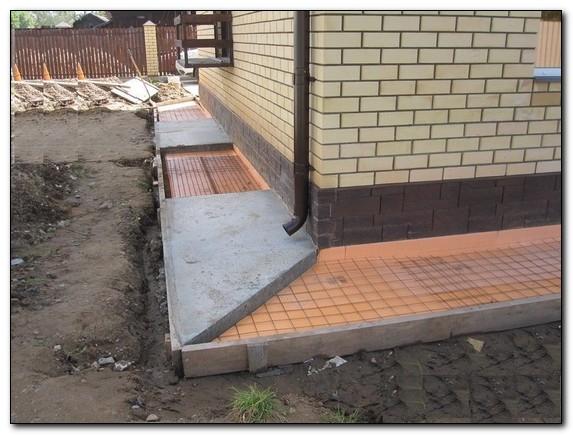 Как правильно приготовить бетон для отмостки