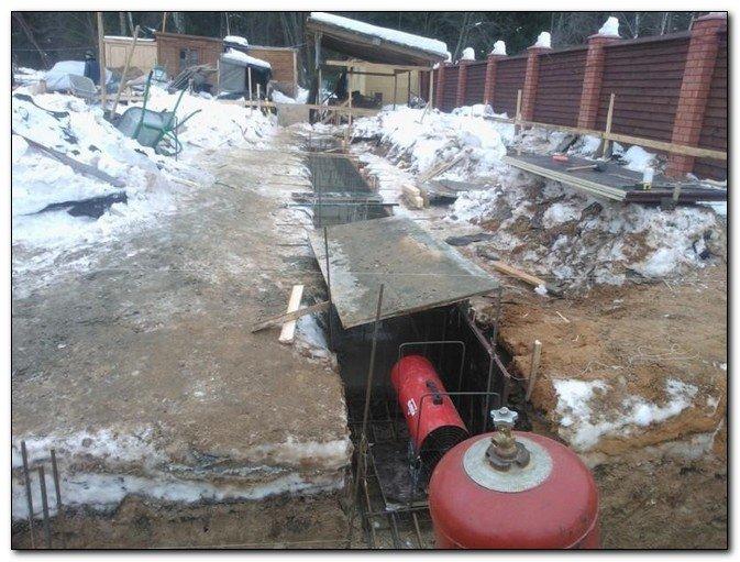 Можно ли заливать бетон при минусовой температуре