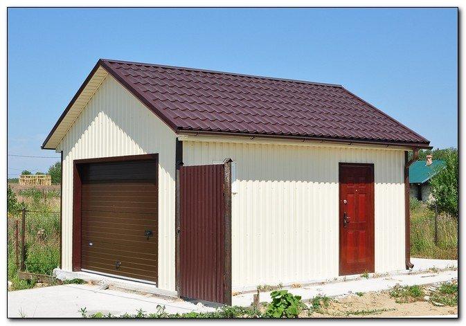 Строим удобный теплый гараж