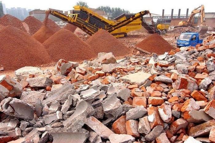 Переработка строительного сырья