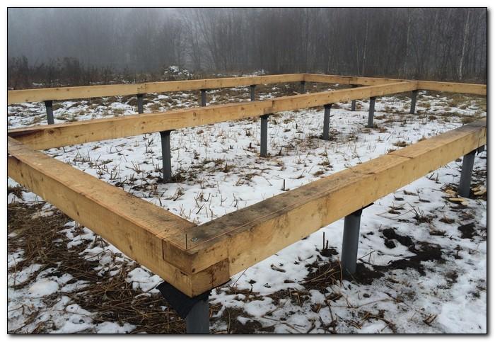строительство дома в декабре